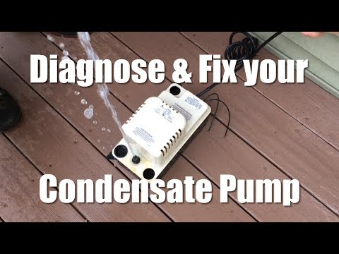 Diagnose and Fix your Condensate Pump
