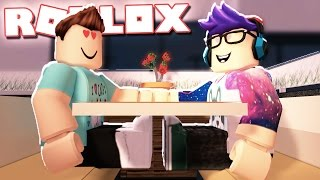 DENIS & ALEX GO ON A DINNER DATE IN ROBLOX!