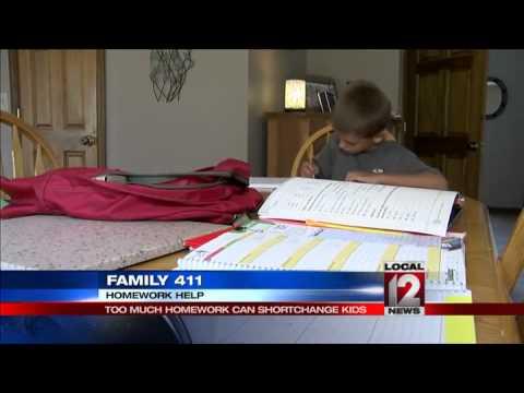 Family 411: Homework overload