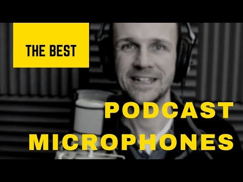 The Best Podcast Microphones for 2018