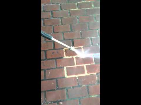 Cleaning  Restrant brick floor