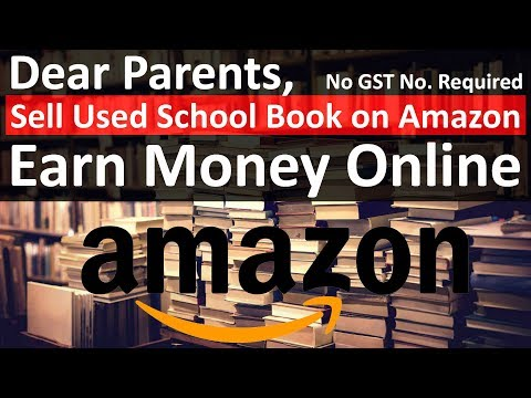How to Sell Used School Books on Amazon | Sell Used Products on Amazon | Earn Money Online
