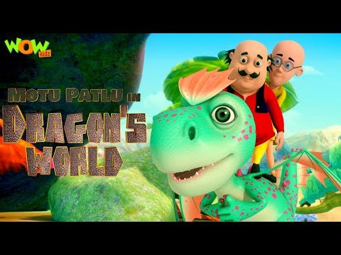 Motu Patlu In Dragon S World Movie Kids Animated Movie Wowkidz