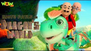 Motu Patlu In Dragon's World , MOVIE , Kids Animated Movie , WowKidz