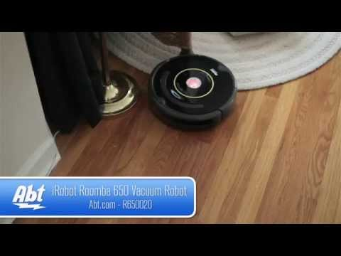 iRobot Roomba 650 Vacuum Cleaning Robot R650020 - Overview