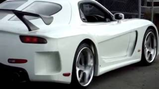 FORTUNE VEILSIDE RX7 FD TWIN TURBO RARE VS KIT CAR!! DEEP DISH WHEELS WIDE BODY FAST AND FURIOUS