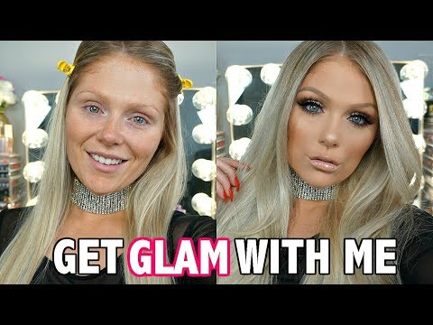GET READY WITH ME | GO TO GLAM MAKEUP LOOK 2018