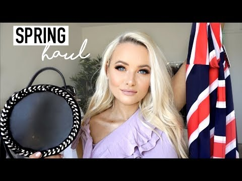 SPRING TRY-ON CLOTHING HAUL 2018
