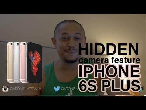 iPhone 6s Plus Hidden Camera Feature!!