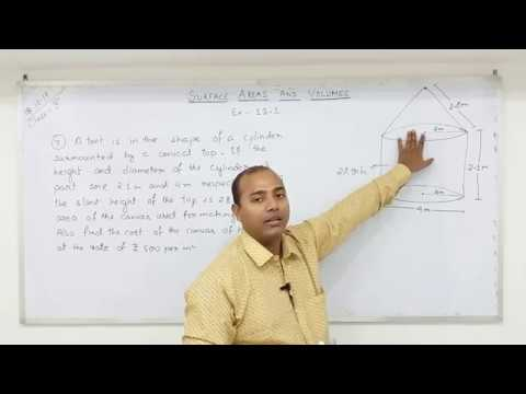 CLASS 10 Surface Areas and Volumes  (Part-4)