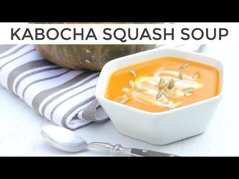 How to Make Kabocha Squash Soup Recipe | Japanese Pumpkin Soup!