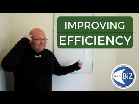 A level Business - How To Improve Efficiency