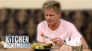 Dry, Frozen, Bland Food Leaves Gordon Ramsay Very Unhappy   Kitchen Nightmares