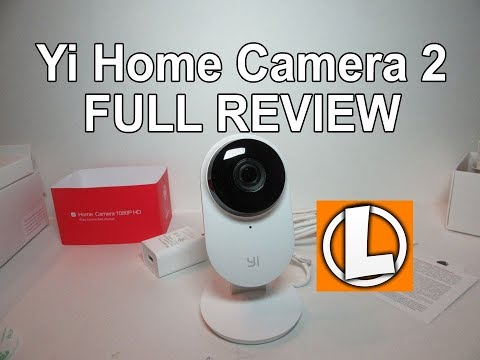 Yi Home Camera 2 1080p Wireless IP Review (US version) - Unboxing, Setup, Install, Video Footage