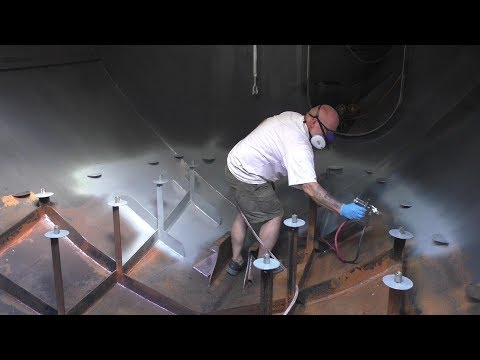 Painting the Engine Room - 3 Days in 3 Minutes