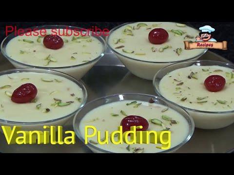 How to Make Vanilla Pudding Easily at Home by Deepa Khurana