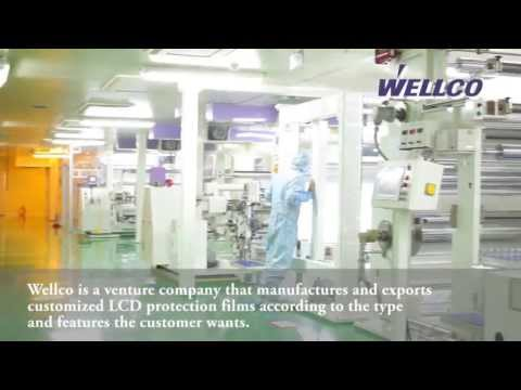 LCD protective film, mobile phone protection, protection film, Screen Protectors by wellco
