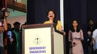 Nee Himamazhayayi | live singing by Nithya mammen | Edakkadu Battalion 06 | Tovino Thomas