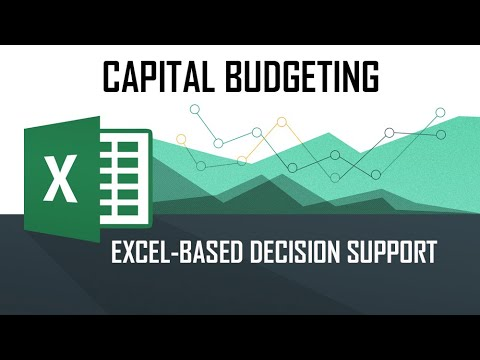 DSS - Capital Budgeting (Using M/S Excel Solver Tool)