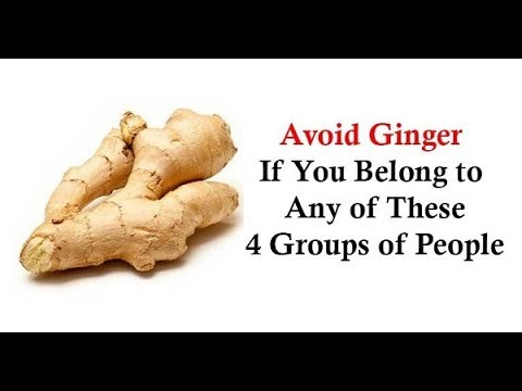 Don't Use Ginger If You Have Any of These Conditions!
