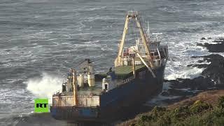 Un 'buque fantasma' aparece en la costa de Irlanda