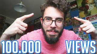 A 100.000 VIEWS CAPELLI AZZURRI!