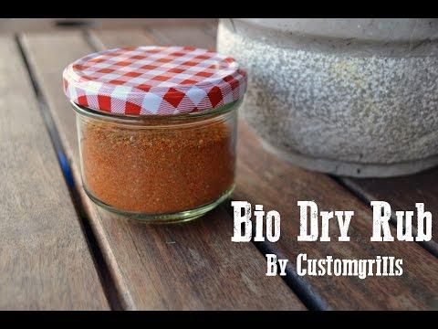 Dry Rub - How To Make Homemade BBQ Dry Rub - by CustomGrills