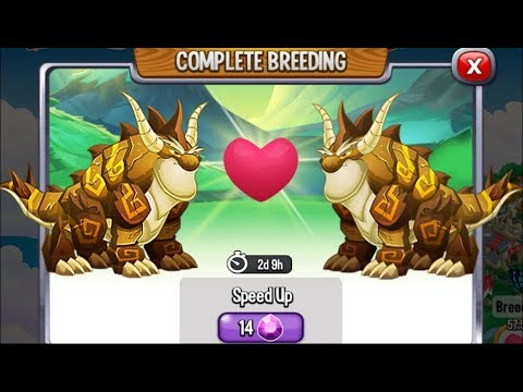 Breeding: Double Terra Dragon vs Double Terra Dragon | Dragon City [Rare Breeding Dragon]