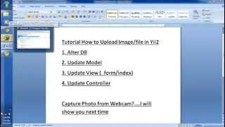 Yii2 Lesson - 48 Uploading Multiple Files With DropZone