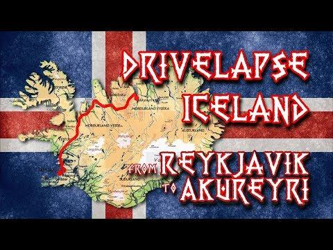 Drivelapse Iceland: From Reykjavic to Akureyri