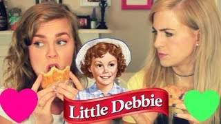 Irish Girls Try Little Debbies For the First Time (feat Shannon Keenan)