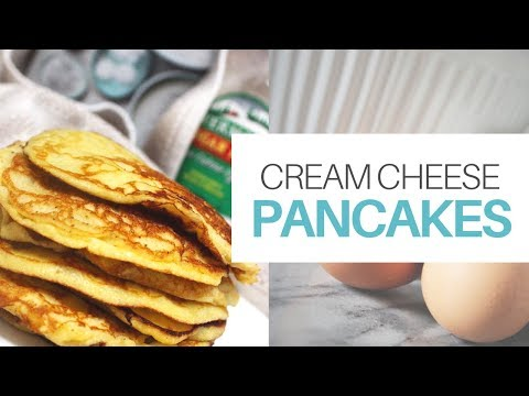Cream Cheese (Keto) Pancakes | Low Carb & Vegetarian Friendly