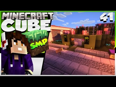 Minecraft: The Cube SMP! Episode 41 - Villager Trading Post!