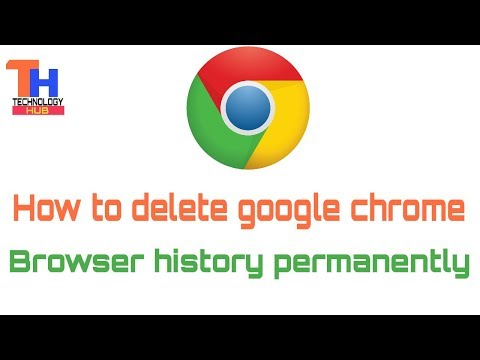 how to delete history on google chrome search bar
