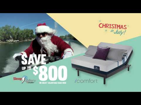 It's Christmas in July @ Schaefer's- Sleep Gallery Free Box Promotion