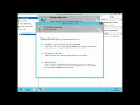 Server 2012 PPTP VPN With 1 NIC