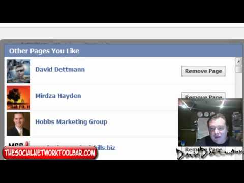 Facebook How to Unlike Facebook Pages