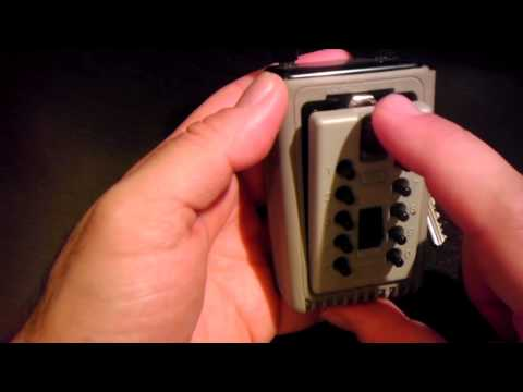 Unlocking a Kidde Portable KeySafe
