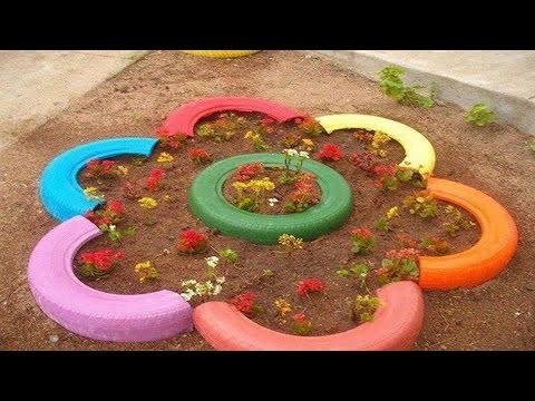 Great way to reuse tires █▬█ █ ▀█▀