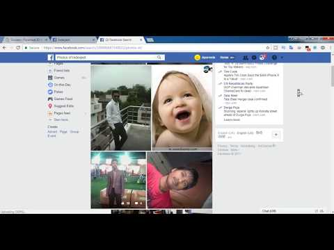 Facebook HACK 2017 || How to see Hidden Picture on facebook of any person || #techpojo
