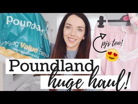 HUGE POUNDLAND HAUL ! | MARCH 2018