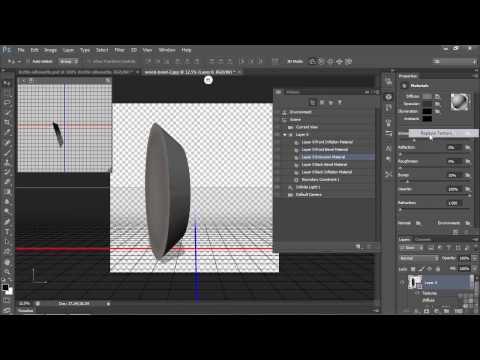 3D Modeling with Adobe Photoshop Tutorial | Making 3D Objects From Everyday Items