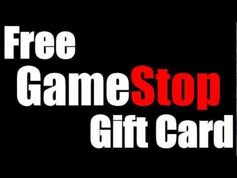 Free GameStop Gift Card