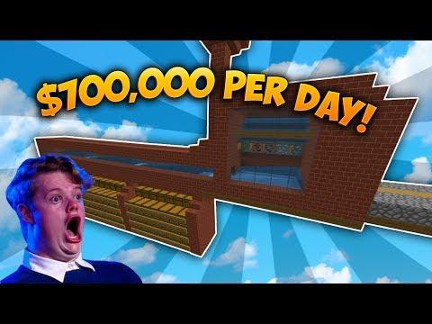OP MINING FARM BUILD | Minecraft Skyblock