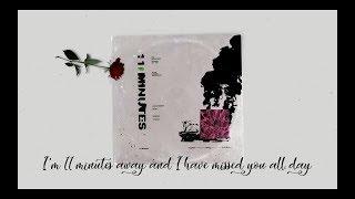 YUNGBLUD, Halsey - 11 Minutes Lyrics / Lyric Video ft  Travis Barker