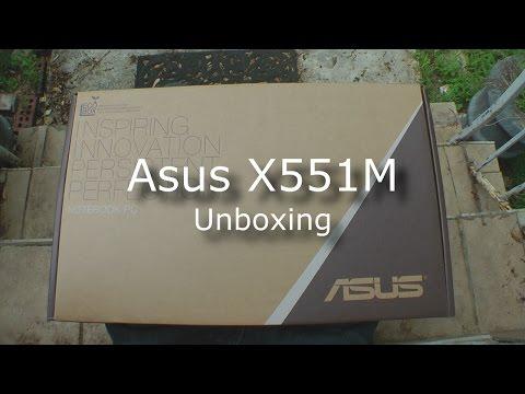 Asus X551M Unboxing