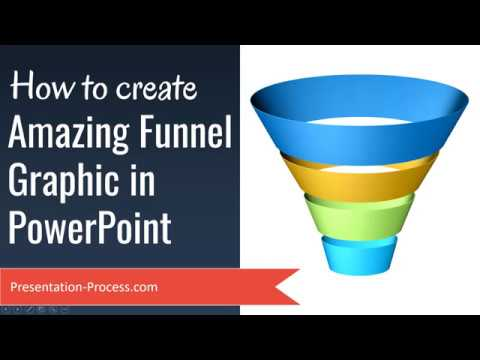 Create Amazing Funnel Graphic in PowerPoint (Advanced 3D Effects)