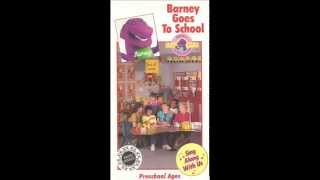 Barney Goes To School Audio Cassette Part 1 2