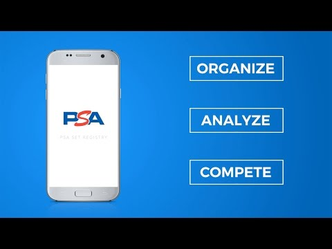 Mobile Collection Management: The New PSA Set Registry App