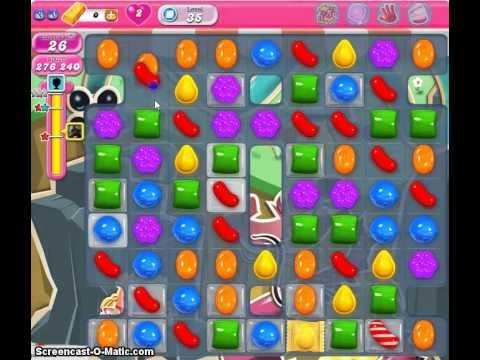 Candy Crush Saga Level 35